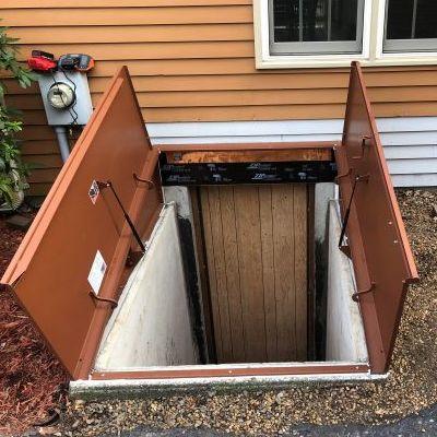 A Repaired Bulkhead Door