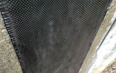 Carbon Fiber Foundation Wall Crack Reinforcing