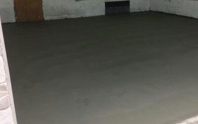 Concrete Basement/Cellar Floor Crack Repair