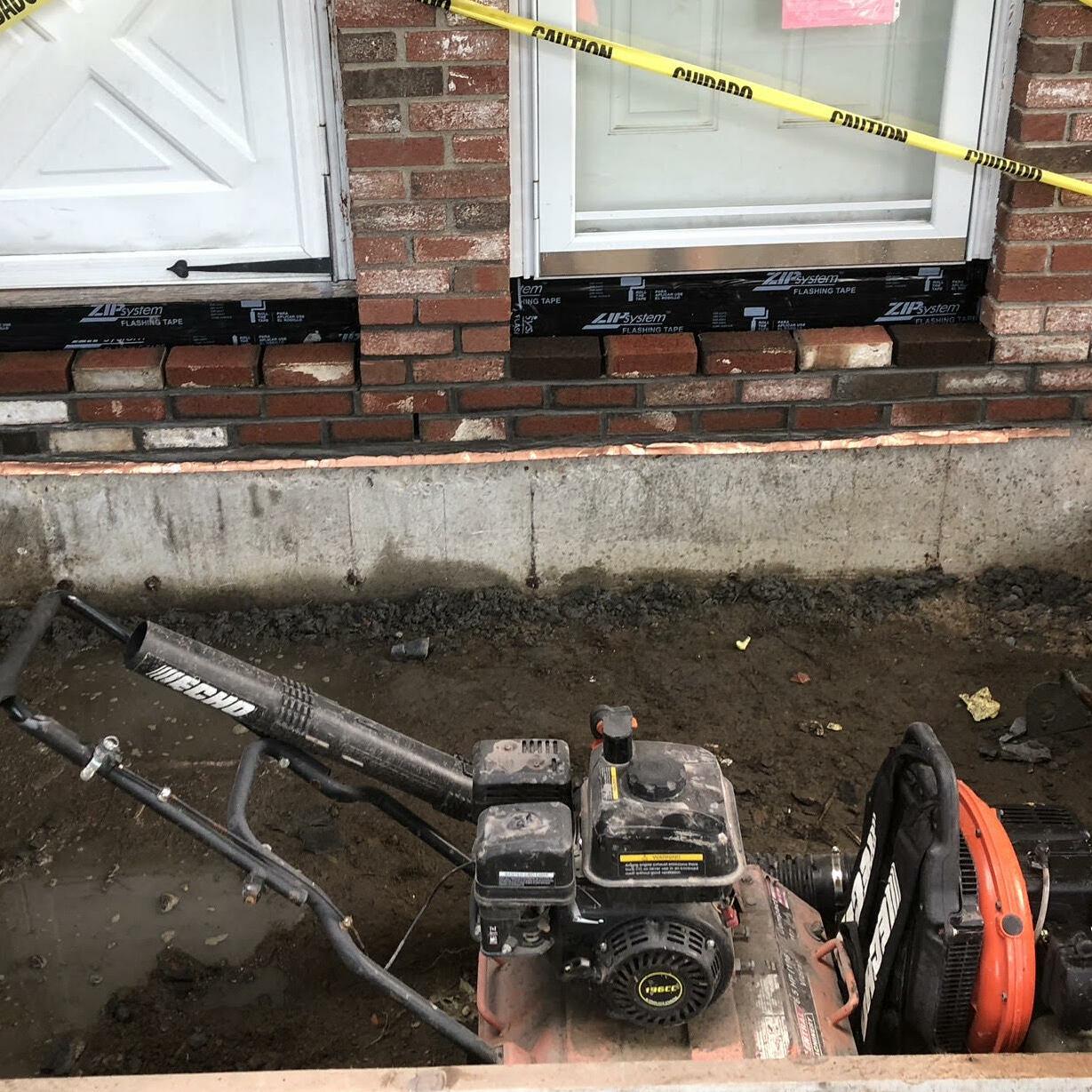 Concrete Masonry Cold Joint Seam Repair