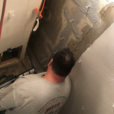 A Structural Crack Injection Repair.