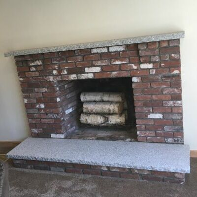 A Repaired Fireplace